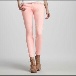Current/Elliot the stiletto orange jean size 26